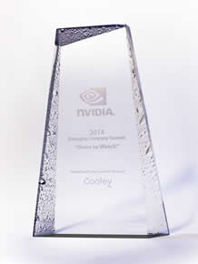 nVidia 'One to watch' award
